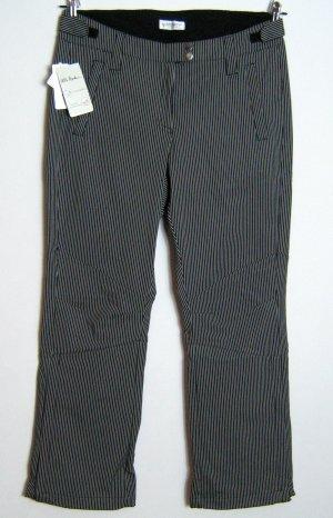 Ulla Popken Snow Pants black-white spandex