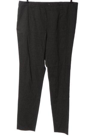 Ulla Popken Pantalone jersey grigio chiaro stile professionale