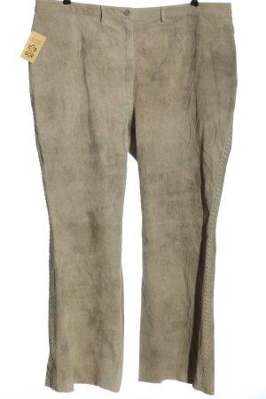 Ulla Popken Pantalon bavarois gris clair style décontracté