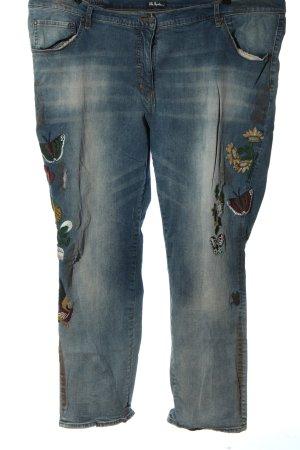 Ulla Popken Jeans elasticizzati blu stile casual