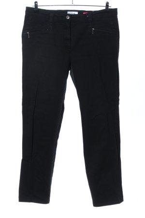 Ulla Popken Jeans stretch noir style d'affaires