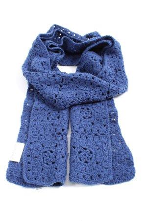 Ulla Popken Knitted Scarf blue casual look