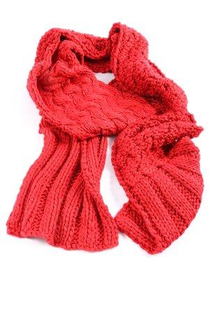 Ulla Popken Knitted Scarf red casual look