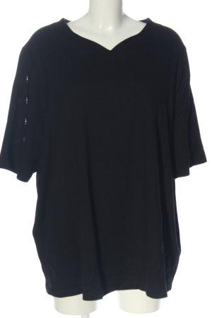 Ulla Popken Sweat Shirt black casual look