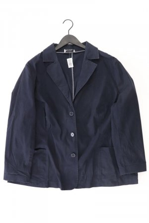 Ulla Popken Between-Seasons Jacket blue-neon blue-dark blue-azure cotton