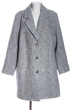 Ulla Popken Between-Seasons-Coat light grey casual look
