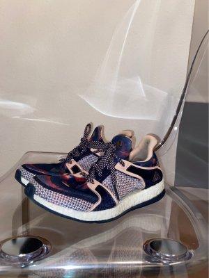 Adidas Sznurowane trampki jasny różowy-niebieski