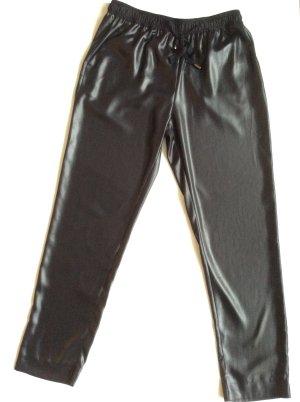Ultra glänzende Track Pant schwarz