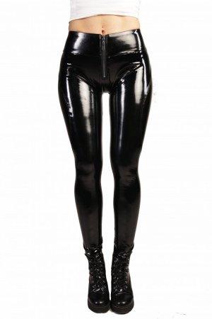 Pantalon taille basse noir