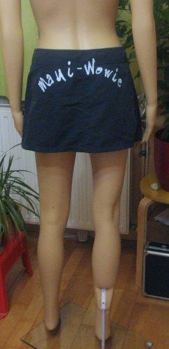 Maui Wowie Miniskirt dark blue-azure polyester