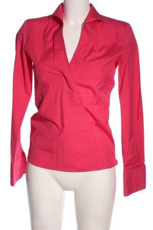 Umani Camicia blusa rosa elegante