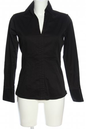 Umani Camicia blusa nero stile professionale