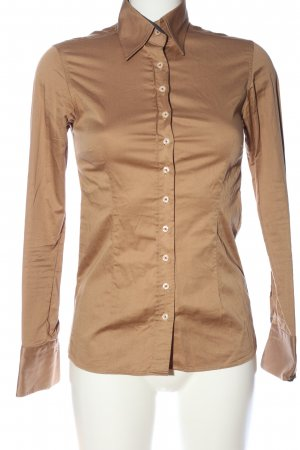Umani Camicia blusa marrone stile casual
