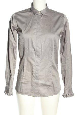 Umani Camicia blusa grigio chiaro stile professionale