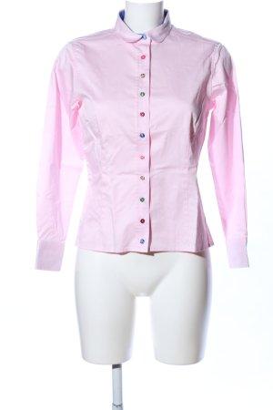 Umani Hemd-Bluse pink Business-Look