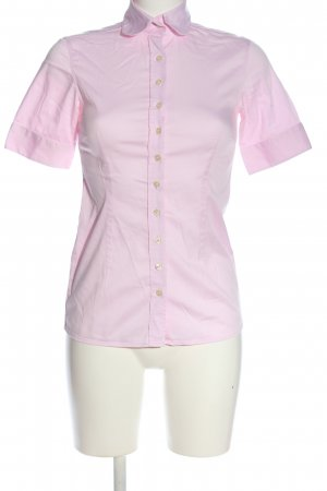 Umani Camisa de manga corta rosa look casual