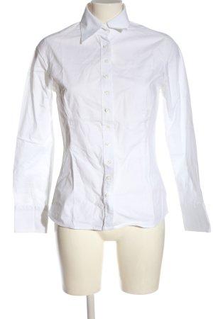 Umani Camicia a maniche lunghe bianco stile professionale