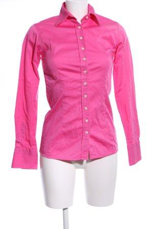 Umani Camicia a maniche lunghe rosa stile casual