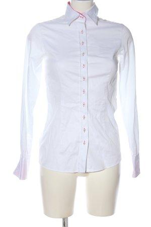 Umani Camicia a maniche lunghe bianco stile casual