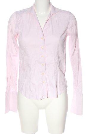 Umani Camicia a maniche lunghe rosa stile professionale