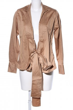 Umani Wickel-Bluse bronzefarben Casual-Look