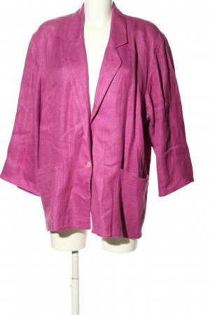 Umberto Ginocchietti Klassischer Blazer pink Casual-Look
