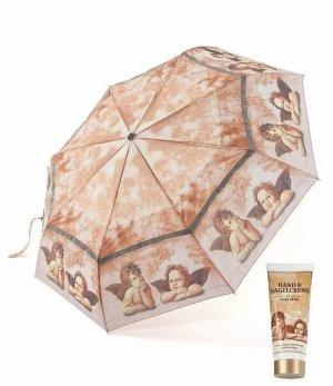 Opvouwbare paraplu lichtbruin