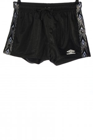 Umbro Sport Shorts black graphic pattern casual look