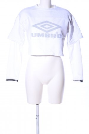 Umbro Sweatshirt Motivdruck Casual-Look