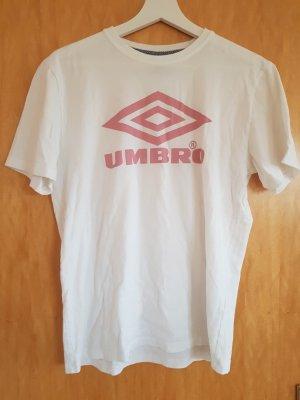 Umbro T-shirt bianco-rosa