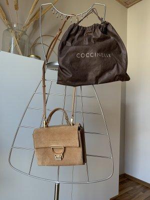 Umgängetasche, Coccinelle Arlettis Mini Veloursleder