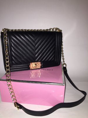 0039 Italy Crossbody bag black-gold-colored