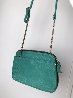 Urban Outfitters Crossbody bag green-turquoise