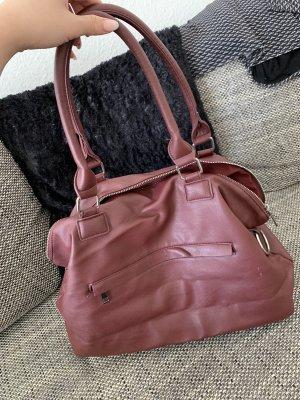 Crossbody bag purple-dark red