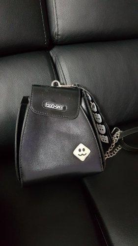Mini sac blanc-noir