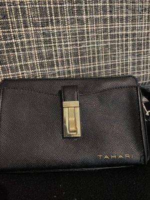 Eli Tahari Mini sac noir tissu mixte