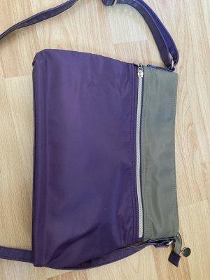 Carpisa Sac bandoulière violet-kaki