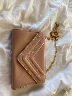 Aldo Crossbody bag beige-dusky pink