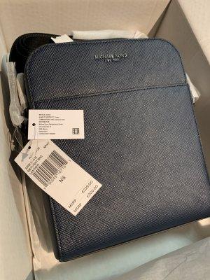 Michael Kors Borsa a spalla blu scuro Pelle