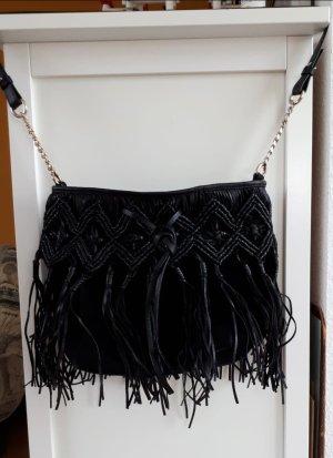 Umhängetasche aus (Wild-) Leder von Zara