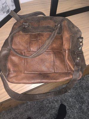 Mjus Shopper marron clair-brun cuir