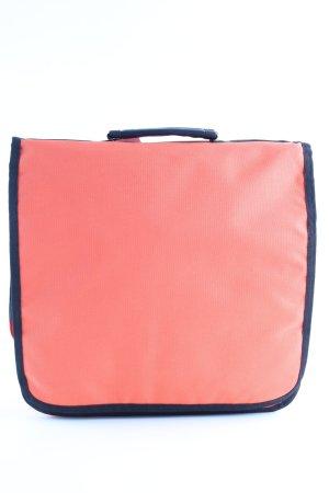 Umhängetasche blau-orange Casual-Look