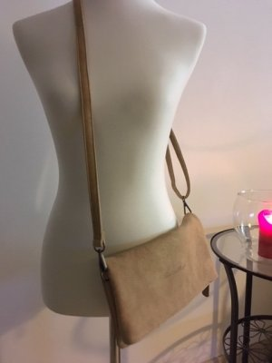Fritzi aus preußen Clutch beige leather