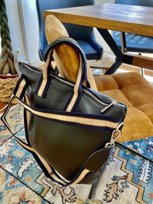 Borse in Pelle Italy Crossbody bag black leather