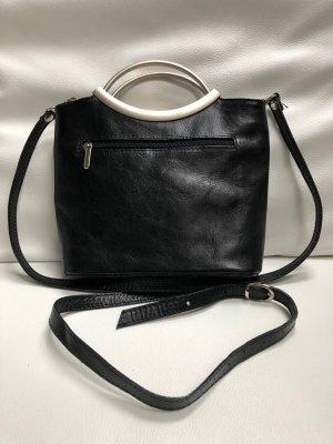Umhängetasche/Handtasche in Schwarz