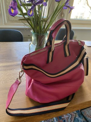 Börse in Pelle Crossbody bag pink leather