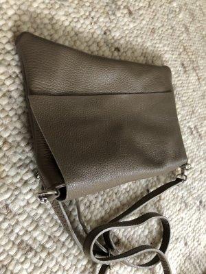 Borse in Pelle Italy Crossbody bag oatmeal leather