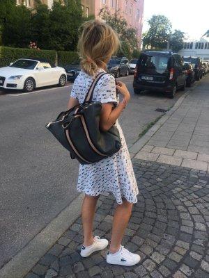 Borse in Pelle Italy Laptop Backpack dark grey leather