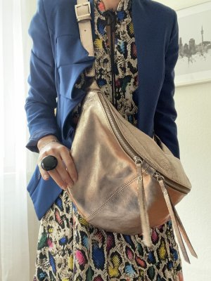 Borse in Pelle Italy Handbag gold-colored leather