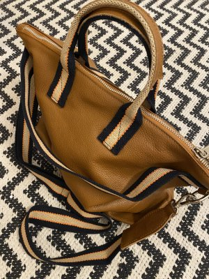 Borse in Pelle Italy Crossbody bag bronze-colored leather